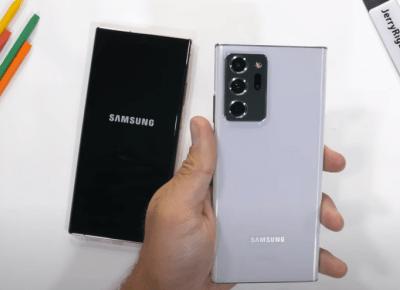 Galaxy Note 20 Ultra - Exynos vs Snapdragon - Samsung lekceważy klientów? - CyberBay