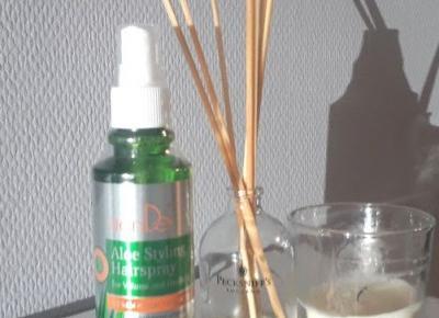 Jak dostać za darmo spray z aloesem do stylizacji włosów?!