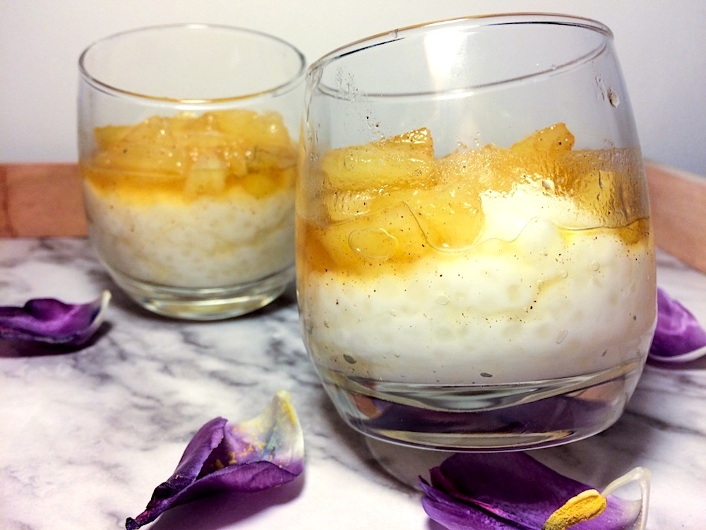 Pudding Pina Colada Z Tapioka Przepis Flaming Blog