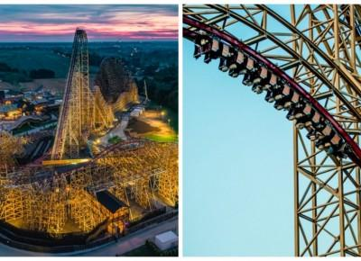 Już zaraz otwarcie w Polsce nowego najwyższego na świecie drewnianego rollercoastera!