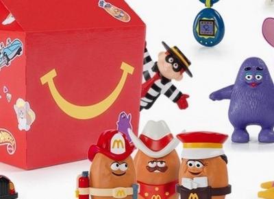 Powrót do dzieciństwa z McDonalds'! Tamagotchi, Furby i inne kultowe zabawki