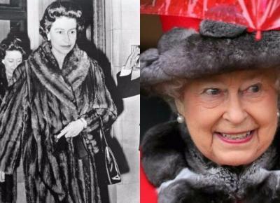 Królowa Elżbieta rezygnuje z noszenia naturalnych futer! Poddała się modzie eko?