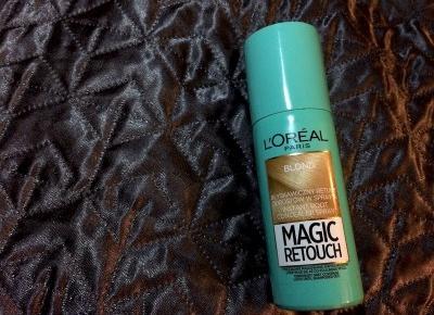 Spray L'Oreal Magic Retouch - rozczarowanie miesiąca? Recenzja I Flaming Blog