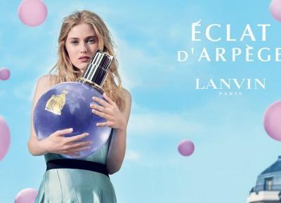 Woda perfumowana Lanvin Éclat d'Arpège – powiew wiosennego kwiatowego wiatru | Flaming Blog