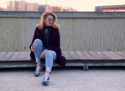 Ostatnie dni w ciemnobordowym płaszczu | Last days of bordo coat | Flaming Blog