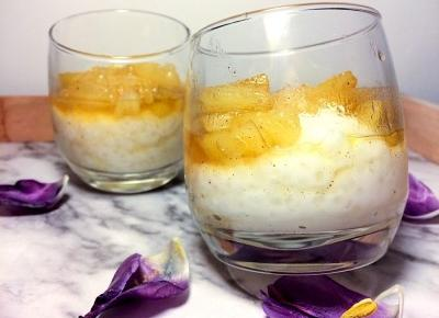 Pudding Pina Colada z tapioką - przepis | FLAMING BLOG