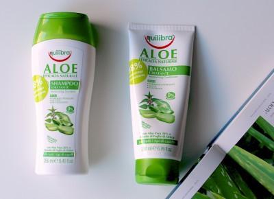 Aloesowa pielęgnacja: szampon i odżywka do włosów Equilibra | FLAMING BLOG