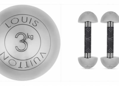 Pełen luksus podczas domowych ćwiczeń – Louis Vuitton wypuścił akcesoria do fitnessu