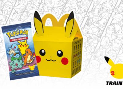 Na kartach Pokemon z McDonalda można zarobić! O co chodzi?