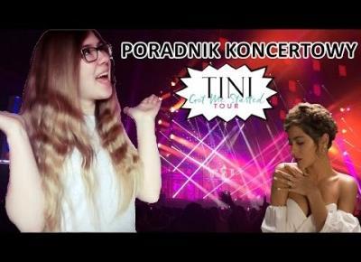 Poradnik koncertowy + akcje #TINIGotMeStartedTour