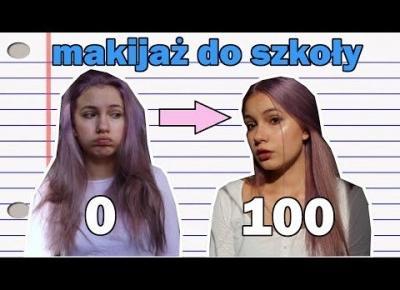 Makijaż do SZKOŁY (prawie) /Daenerys