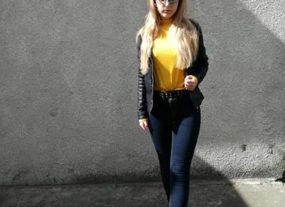 OOTD: YELLOW TURTLENECK