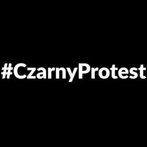 Suzane Catherine Blog: #Czarny protest