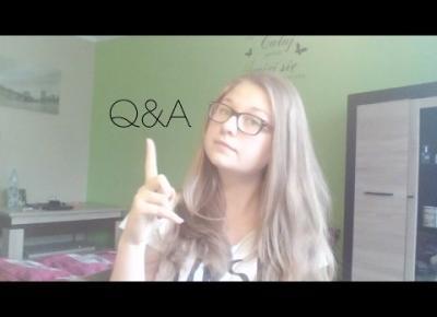 #1 Q&A I Przegrałam życie? I Będzie Minecraft? I CathrineBloog
