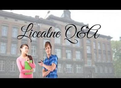 Licealne Q&A I Czy jest dużo nauki? Najlepszy profil?