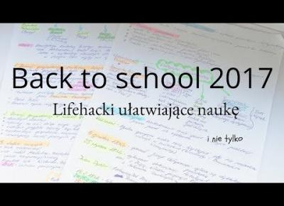 Back to School I Lifehacks