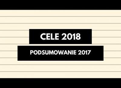 Cele na 2018 rok I Podsumowanie roku 2017 I SuzaneKate
