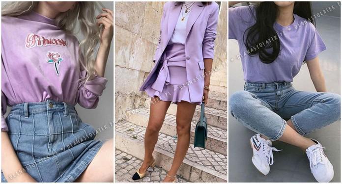 Wiosenne stylówki w kolorze lilaróż | DlaNastolatek.pl