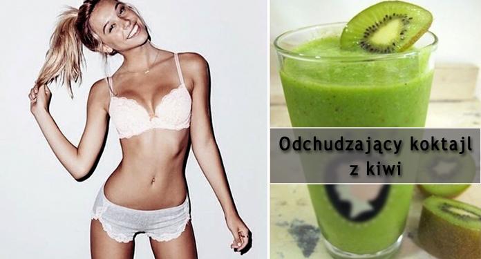 Odchudzający koktajl z kiwi | DlaNastolatek.pl