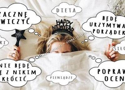 Popularne postanowienia noworoczne, których nie udaje się spełnić | DlaNastolatek.pl
