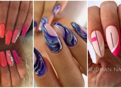 Szalone wzorki na paznokcie, idealne na lato! | DlaNastolatek.pl
