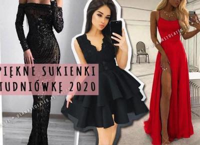 Przepiękne sukienki na Studniówkę 2020. Aż 21 propozycji! | DlaNastolatek.pl