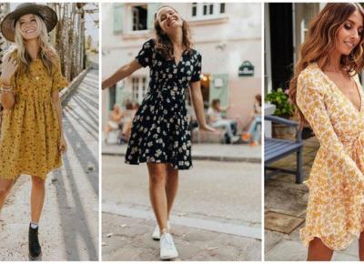 Letnie stylizacje z sukienką w kwiaty | DlaNastolatek.pl