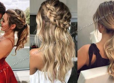 Najpiękniejsze fryzury na Studniówkę 2020 | DlaNastolatek.pl
