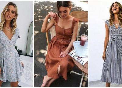 Jak dobrać letnią sukienkę do swojej figury? | DlaNastolatek.pl