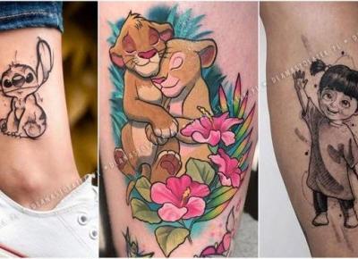 Najpiękniejsze tatuaże z motywami z bajek | DlaNastolatek.pl