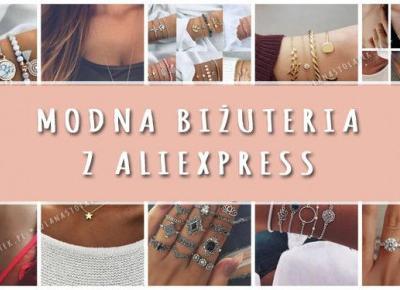 Modna biżuteria z AliExpress | DlaNastolatek.pl