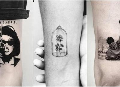 Najpiękniejsze tatuaże z motywami z filmów | DlaNastolatek.pl