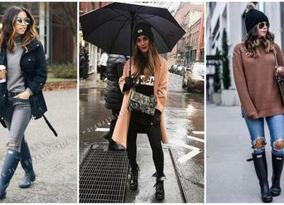10 stylizacji na deszczową pogodę | DlaNastolatek.pl