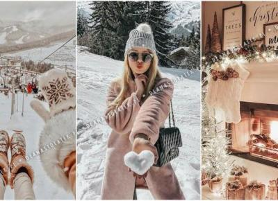 Zimowe inspiracje z Pinteresta! | DlaNastolatek.pl