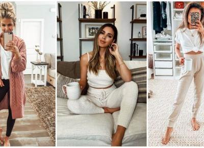 10 modnych stylizacji do chodzenia po domu | DlaNastolatek.pl