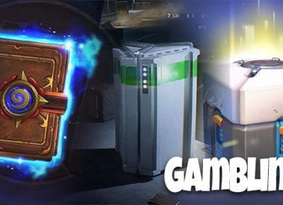 Loot box (skrzynki)  w grach to hazard czy nie? cz.1
