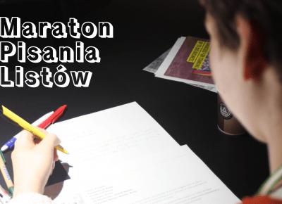 Maraton Pisania Listów – Cień Pisarza