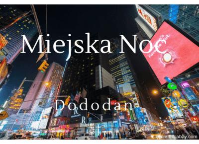 Miejska Noc – Cień Pisarza