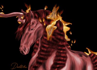 Dollka Blog: Fire horse