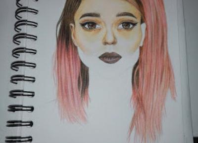 Dollka Blog: Kolorowy szkicownik #strona 8