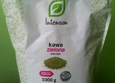 Testowanie produktów i nie tylko : Zielona Kawa ze Straganu Zdrowia
