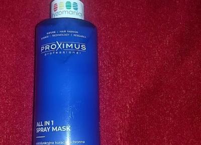 Testowanie produktów i nie tylko :  Proximus All in 1 wielofunkcyjna maska do włosów od sklepu Fryzomania