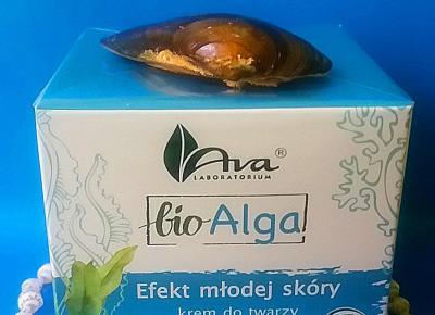 Testowanie produktów i nie tylko : Bio Alga Krem na dzień – Efekt młodej skóry od Ava laboratorium - recenzja