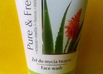 Testowanie produktów i nie tylko : Żel Pure&free do mycia twarzy od Ava laboratorium  - recenzja