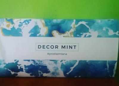 Testowanie produktów i nie tylko : Decor Mint - Fototapety samoprzylepne i nie tylko