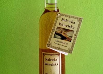 Nalewka Wawelska o smaku miodowo - różanym