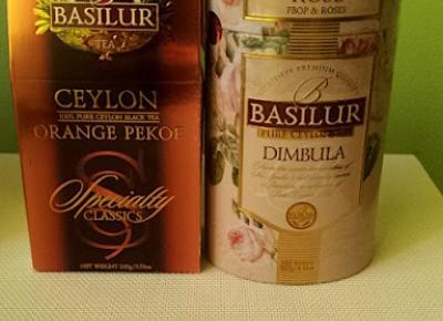 Testowanie produktów i nie tylko : Herbaty premium Basilur