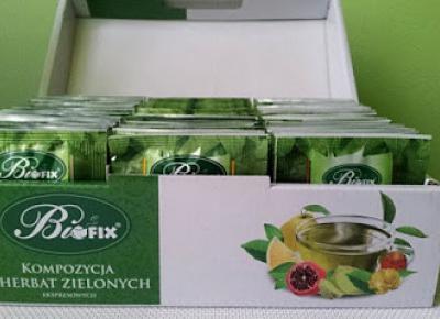 Testowanie produktów i nie tylko : Kompozycja 6 zielonych herbat Bifix