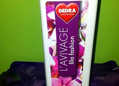 Testowanie produktów i nie tylko : Płyn do płukania tkanin L'AVIVAGE o zapachu lilli marki Dedra