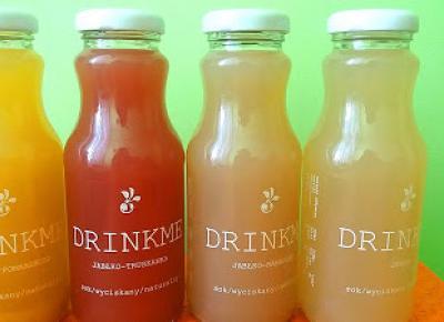 Testowanie produktów i nie tylko : Recenzja soków Drink me i nie tylko od Sadvit